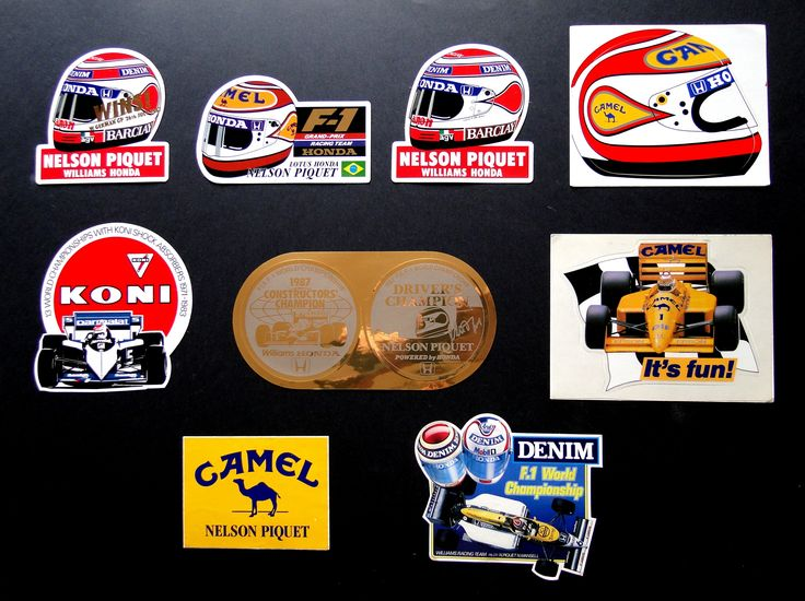 Nelson Piquet collection