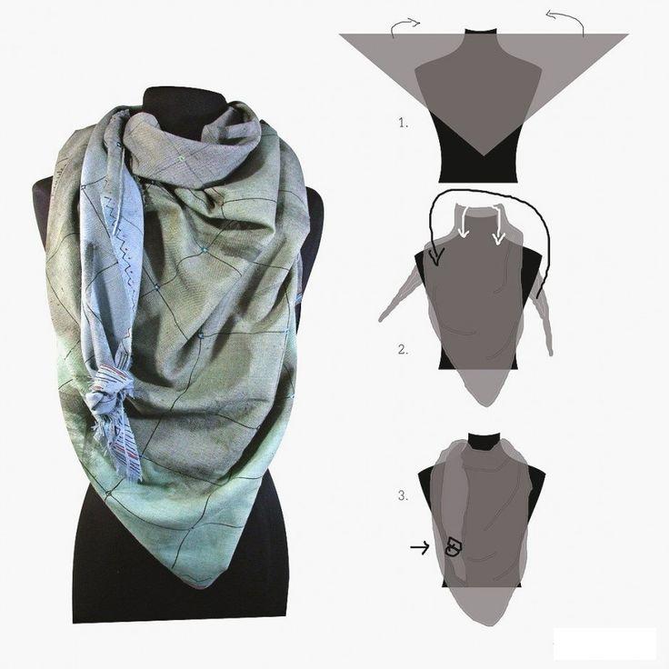 Cashmere Silk Scarf - Bewildered Silk cashmere by VIDA VIDA oMND5XQxAi