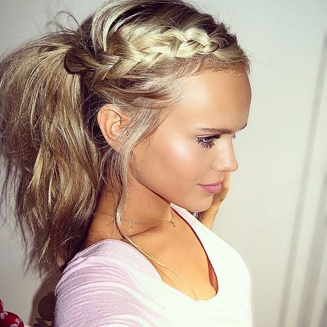 Cute Ponytail Hairstyles 400 Best Mane Game Images On Pinterest  Hair Colors Cute