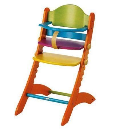 Geuther Стульчик для кормления Swing цветной  — 20780р. -------- Стул детский для кормления SWING (цветной)