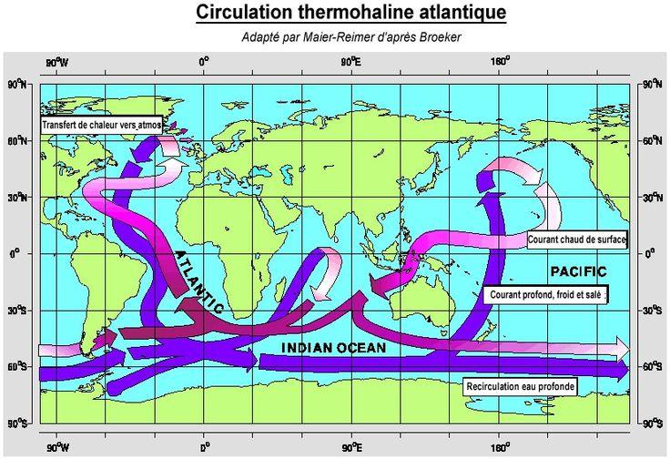 La Planète Bleue: Ralentissement de la circulation océanique - Frawsy