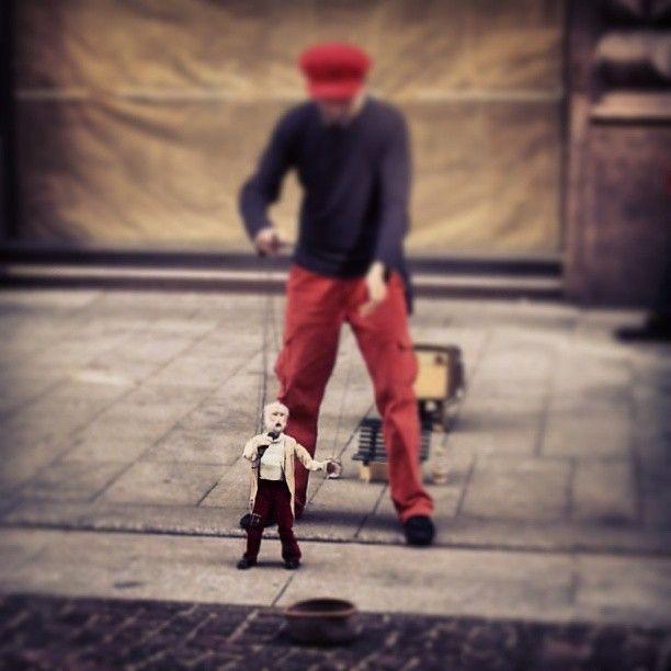 The Puppet Master. #Milan #streetart #street #art #puppet #puppetmaster #milano #Italy #madeinitaly #shoppinginitaly #shopping #online #shop #tourism #italyloveyou #italygram #igersitaly #igersitalia #italyphoto #it #italianeography #italiano #italiana #italiani #italianstyle #italians #italianlovers #italianigers #italianphoto #italianpride #italiansdoitbetter #italianjob