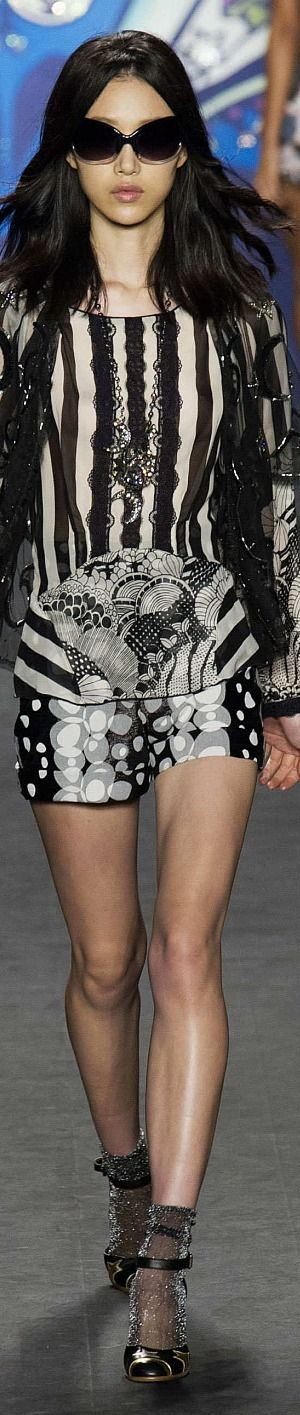Anna Sui Collection Spring 2015 Ready to wear