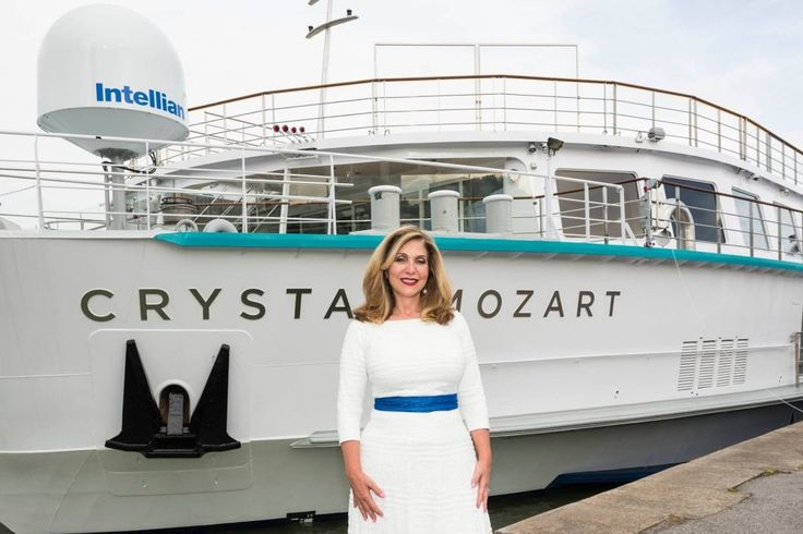 Crystal Cruises Hires Disney Veteran In Shakeup to Replace Outgoing CEO Edie Rodriguez  Edie Rodriguez who just resigned as CEO of Crystal Cruises is seen here on November 17 2016 in front of the Crystal Mozart. Crystal Cruises  Skift Take: Crystal Cruise