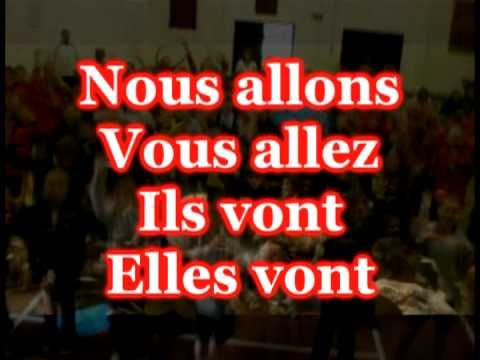 """The verb Aller """"to go"""" by étienne!"""