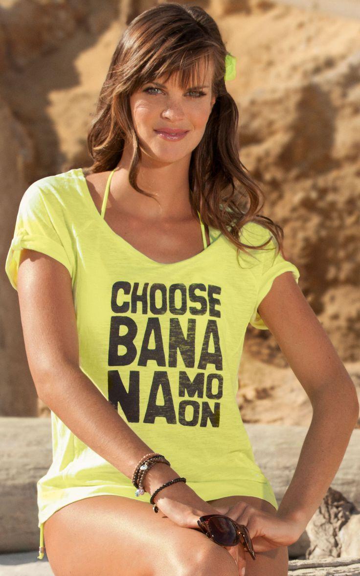T-Shirt Ilana Streetbag Banana Moon