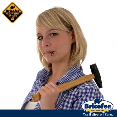 Per partecipare al Casting del Bricofer Reality Shop on Tour collegati al sito http://www.reality-shop.it/casting carica le tue foto e inserisci i tuoi dati