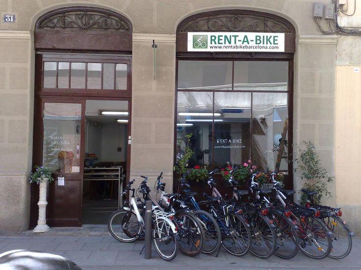 Rentabike Barcelona in the bohemian Grácia