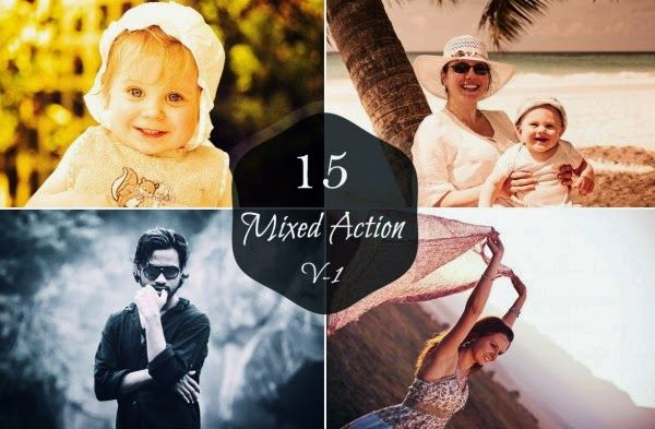 Photo Resource Kingdom: 15 MIXED ACTIONS SET