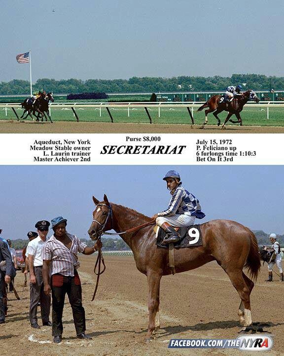 Secretariat  His first win
