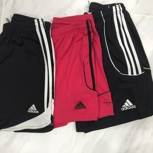 Set of 3/// Adidas Soccer Shorts