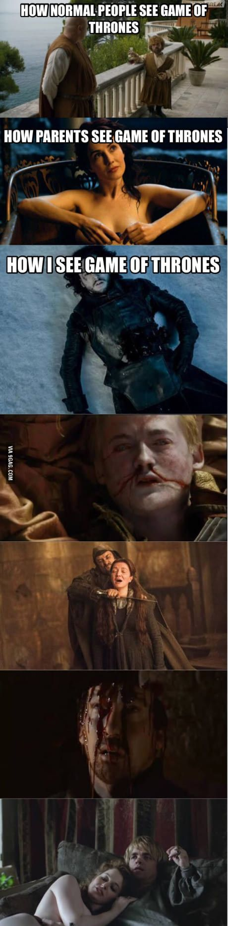 How I see Game of Thrones
