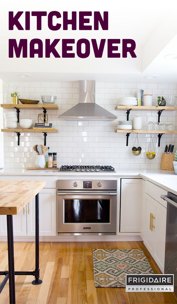 61 best dream kitchen inspiration images on pinterest kitchens see the before and after photos of how jenloveskev totally transformed her kitchen into a solutioingenieria Images