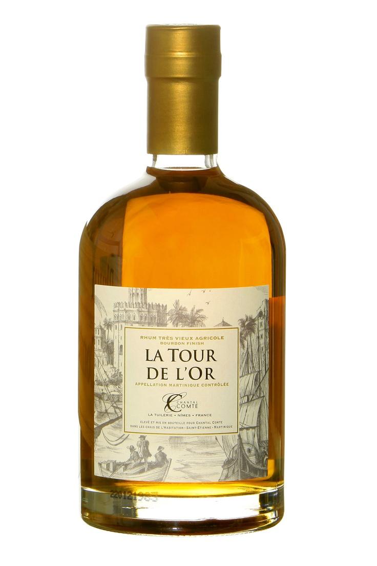 """Nouveau Rhum signé Chantal Comte """"La Tour de l'Or Bourbon Finish"""""""