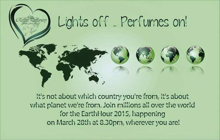 Rosina Perfumery: Rosina Perfumery Rosina Perfumery supports Earth H...