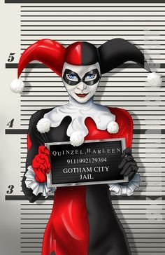 Harley Quinn Busted  - http://www.femalejokercostume.com