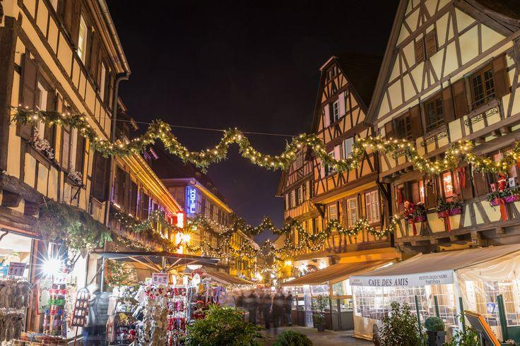 Illuminations nocturnes - marché de Noël 2015 - Styl'List Images