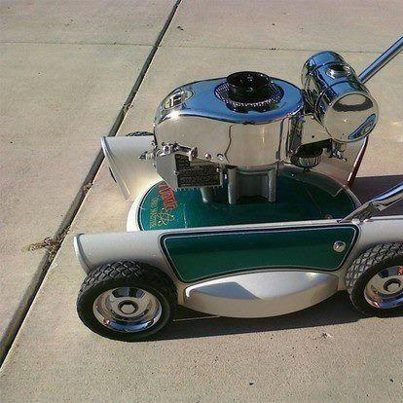 Stylish Lawnmower