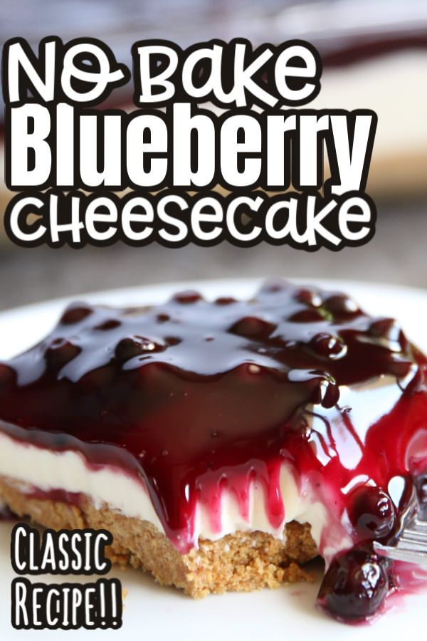 No Bake Blueberry Cheesecake Happy Hooligans Recipe In 2020 No Bake Blueberry Cheesecake Blueberry Cheesecake Baking
