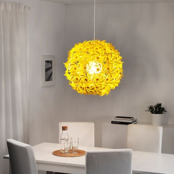 Grimsas Hangeleuchte Gelb Ikea Deutschland In 2020 Anhanger Lampen Hangeleuchte Lampe