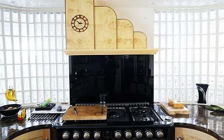 Eco Homes An Art Deco Dream Eco Style Art Deco Kitchen Art Deco And Kitchens