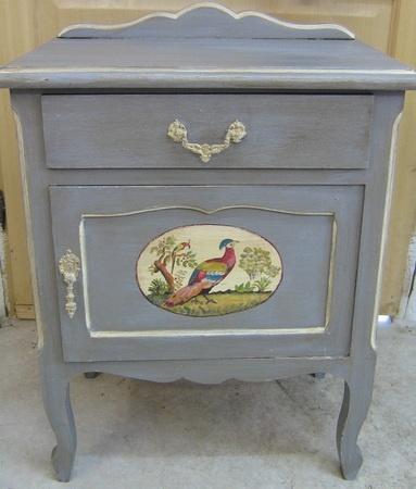 Mejores 20 im genes de muebles antiguos en pinterest - Muebles antiguos pintados ...