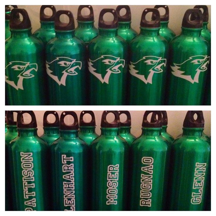 Eagles Aluminum Water Bottles For My Sons Football Team