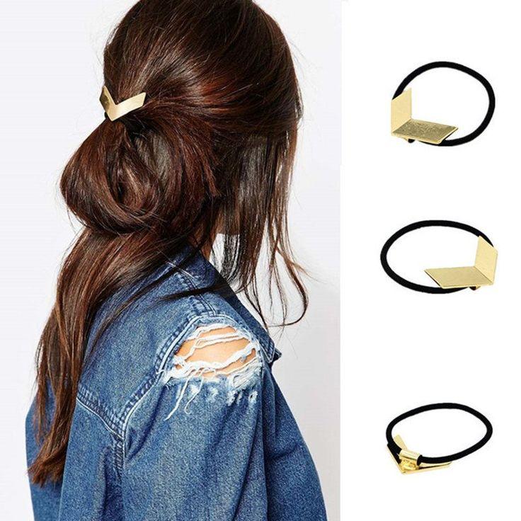 TS1010 Women Hairbands Head Jewelry Fashion V Shape Punk Alloy Hair Accesories Tiara
