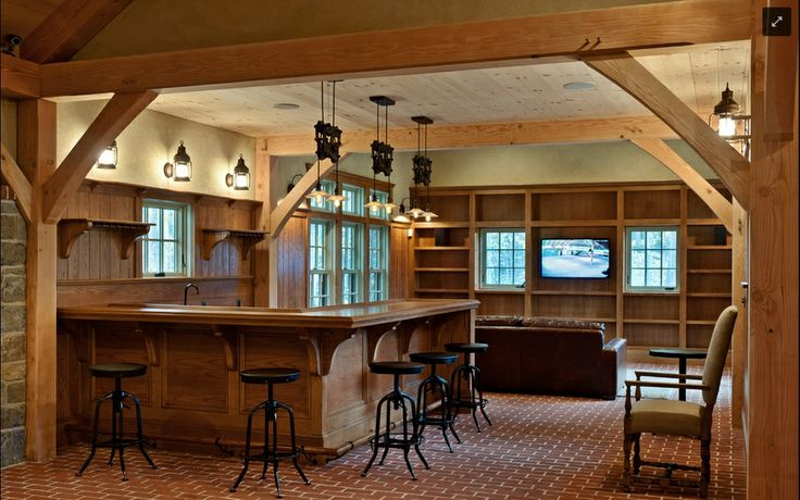 Carriage house barn awesome man cave bar pinterest for Carriage house shed