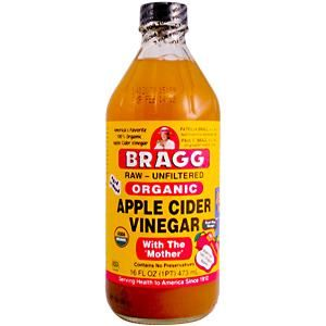 Natural Home Remedies for Heartburn  Apple Cider Vinegar  Stir 2 Tablespoons of apple cider vinegar into 1/2 cup of water or apple juice & drink immediately after each meal. It will calm stomach troubles and brings about digestive relief. Apple cider vinegar can also be taken in tablet or capsule form.