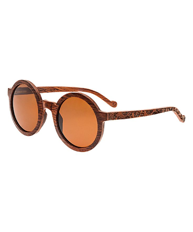 Another great find on #zulily! Red Rosewood Canary Wood Sunglasses by EARTH wood watches #zulilyfinds