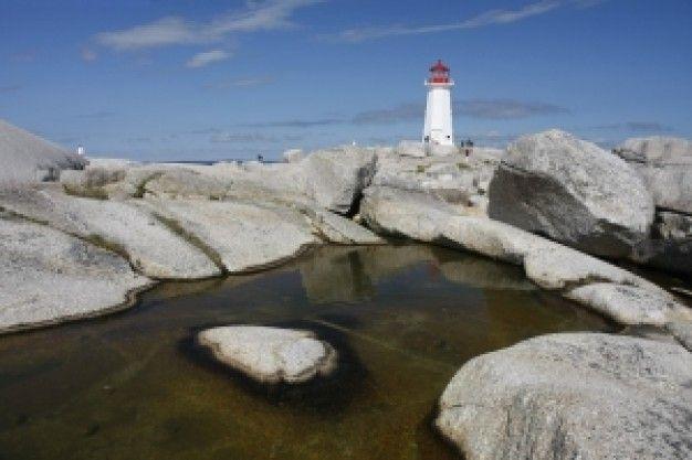 lighthouses o   pentrist peggys cove | peggy s cove farol Canadá Nova Escócia