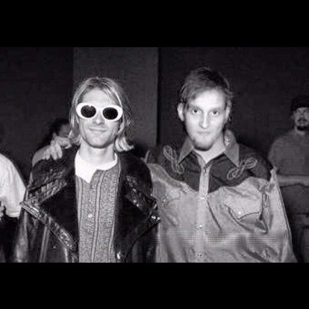 Layne Staley & Kurt Cobain. True talent always fades away too soon and the bullshit crap stays...why?!