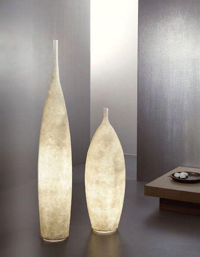 Vase Floor Lamps: Illuminated floor vases,Lighting