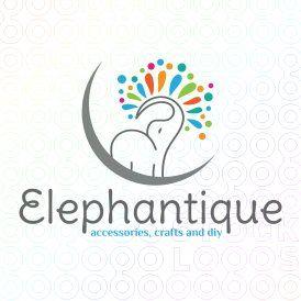 #Luna #Elephant logo