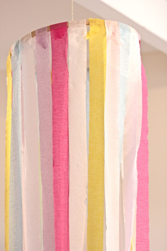 Best 117 crepe paper ideas on pinterest crafts for - Birthday decorations with crepe paper ...