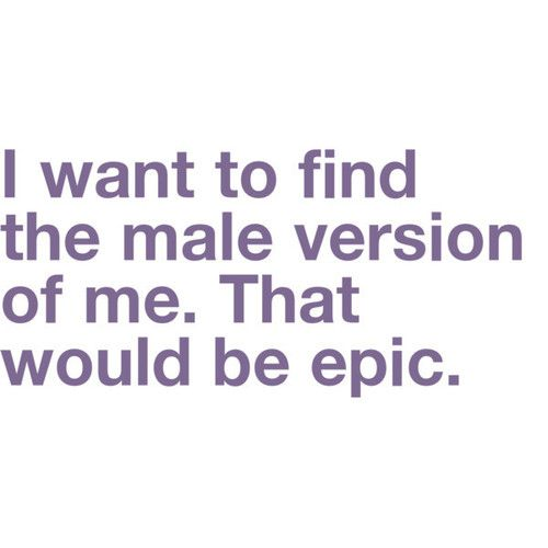 I bet he'd be awesome...