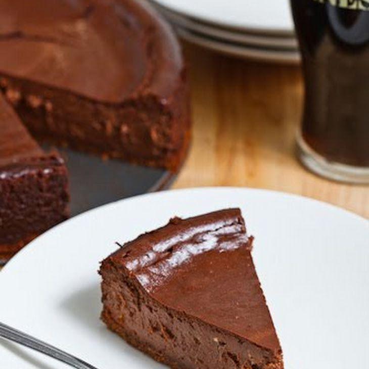 Guinness Chocolate Cheesecake Recipe Desserts with graham cracker ...