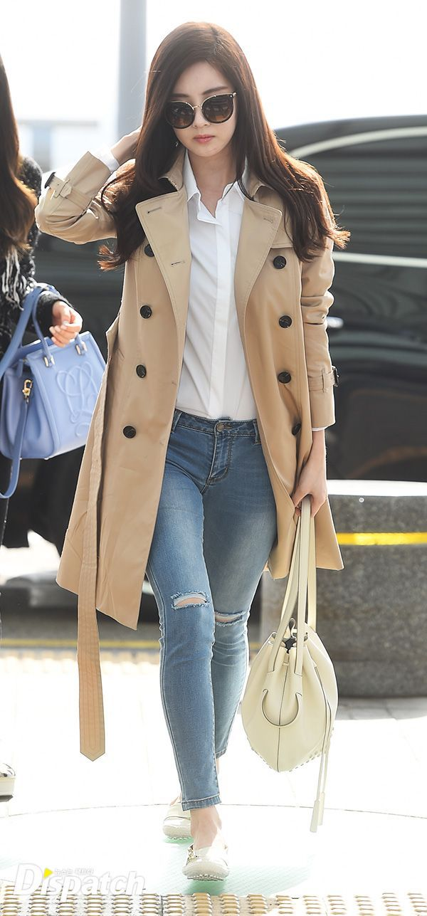 SNSD Seohyun Airport Fashion 150320 2015