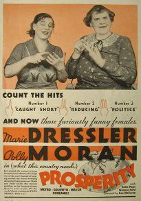 Prosperity (1932) Marie Dressler, Polly Moran