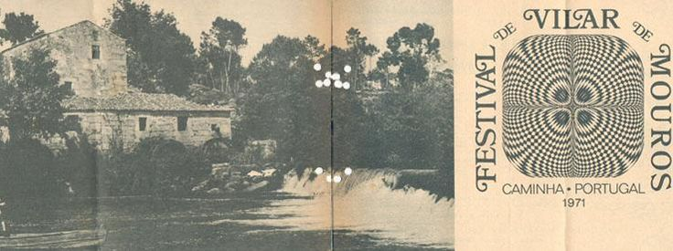 O primeiro bilhete do Festival Vilar de Mouros, de 1971 :) #vilarmouros #arockardesde1971