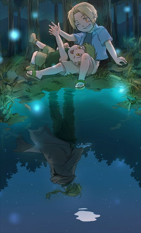 Lonely Alphonse by http://www.pixiv.net/member.php?id=2188679