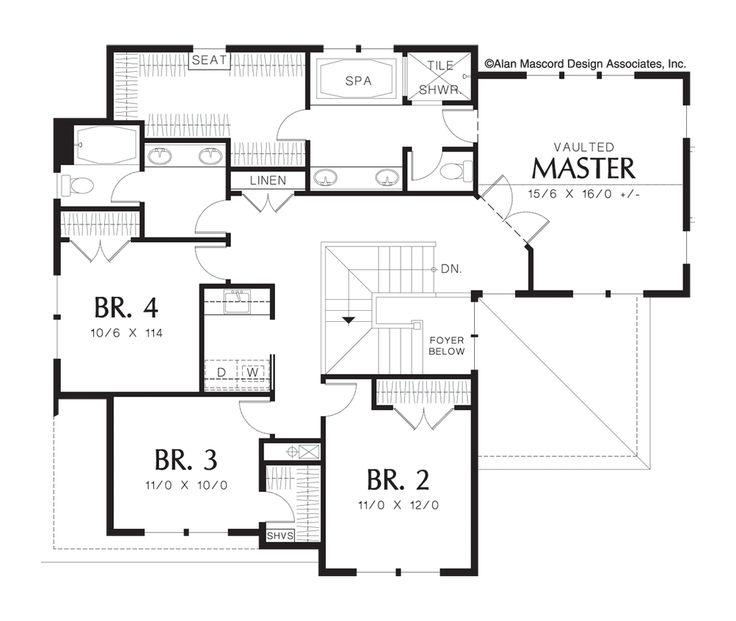 62 best floor plans images on pinterest   home plans, arquitetura