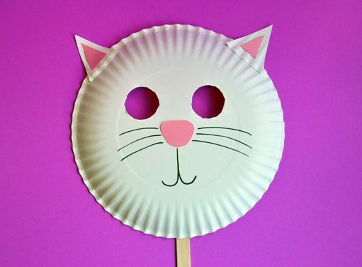 Kitty Mask – Sunny Side Up Show Crafts   Preschool Crafts