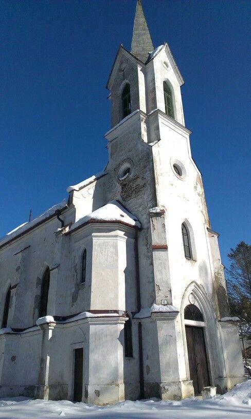 Vaľkovňa, kostol