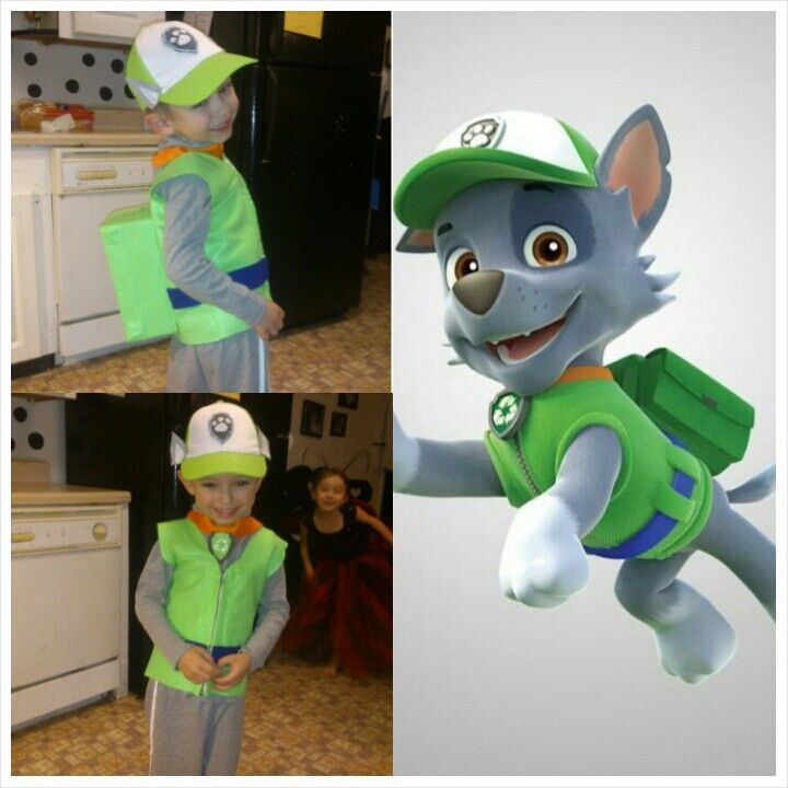 Image result for diy rocky paw patrol costume