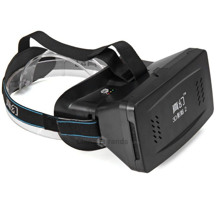 RITECH II Head Mount Plastic Version 3D Virtual Reality Glasses for 3.5 to 6 inch Smartphone