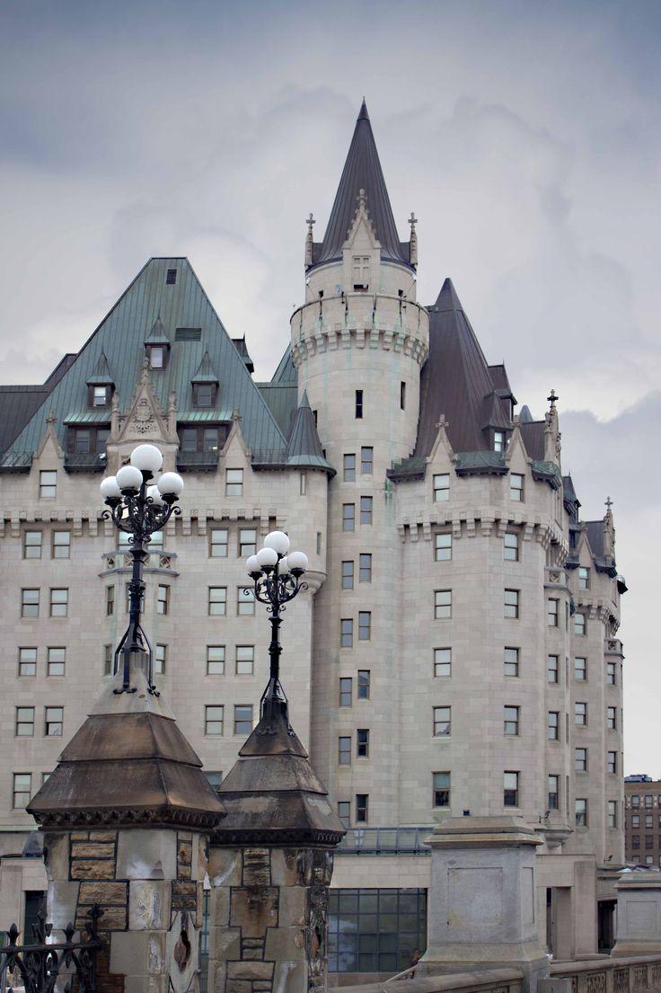 Chateau Laurier - Ottawa, Ontario, Canada #chateaulaurier #ottawa #ontario #canada #travel #hotel #wheretostay