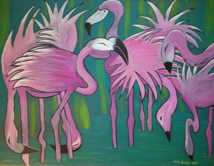Flamingo Crazy!