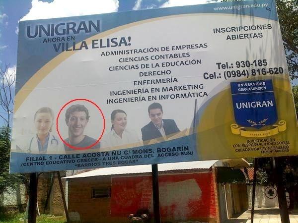 Mark Zuckerberg estudou no Paraguay!